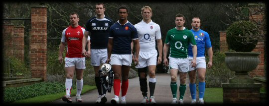 RBS 6 Nations The Captains...for now!