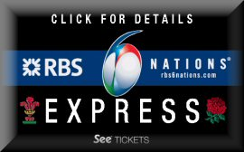 RBS 6 Nations Express Ticket Details