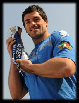 Andrea Masi RBS 6 Nations Player of the Championship