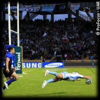 Argentina France 1st Test Belisario Agulla try