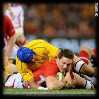 Australia Wales 2nd Test George North try