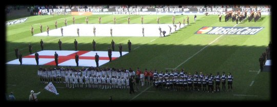 England vs Barbarians 2010