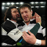 Barbarians 125th Anniversary match v Argentina Victor Matfield Bakkies Botha