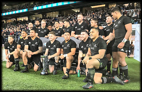 Barbarians All Blacks Killik Cup Winners 2017