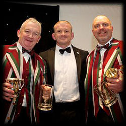 Bart Redmond Graham Rowntree Alex Cook Thamesians 50th Anniversary Ball 2013