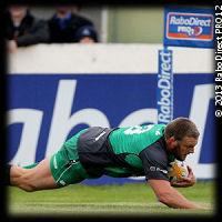 Connacht Zebre Nathan White try