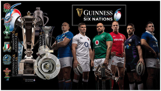 Six Nations 2018 cover
