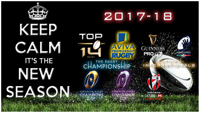 New Rugby Season 2017-18