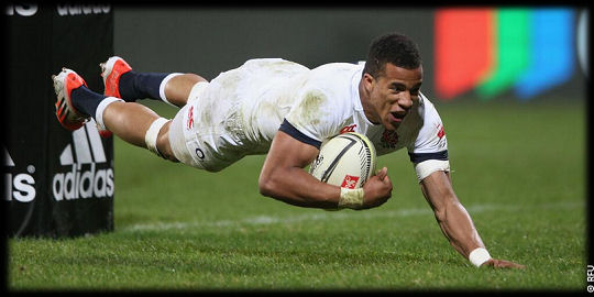 Crusaders England Anthony Watson try