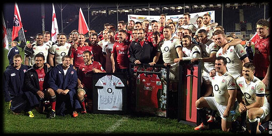 Crusaders England post match