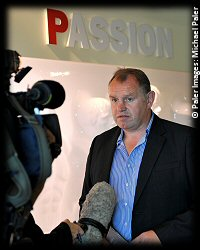 Dean Richards DoR Newcastle Falcons RFU Championship Launch 2012