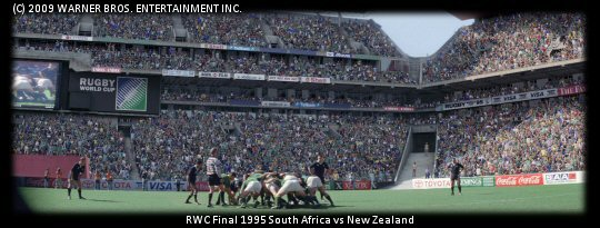Rugby World Cup Final 1995, Ellis Park