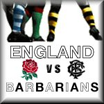 England vs Barbarians 2011