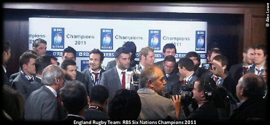 England Rugby: RBS SIX NATIONS 2011 CHAMPIONS