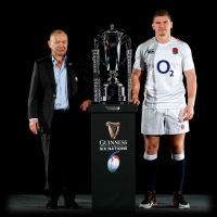 England Rugby Eddie Jones Owen Farrell Guinness Six Nations 2019