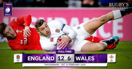 England Wales FT 6 Nations 2018