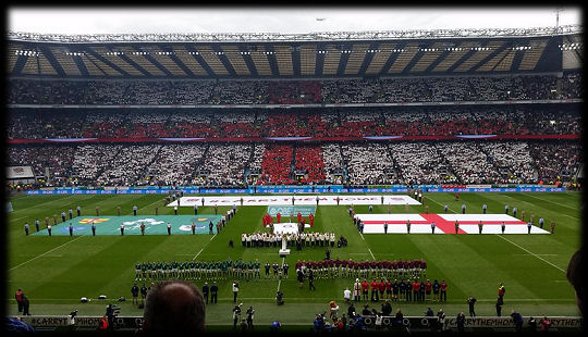 England v Ireland anthems