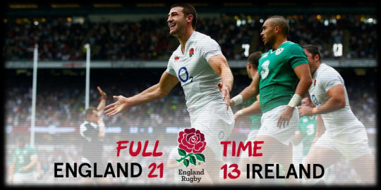 England v Ireland full time