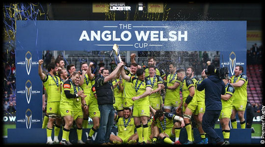 Exeter Chiefs Leicester Tigers Anglo Welsh Cup Final 2017