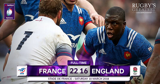 France England FT 6 Nations 2018