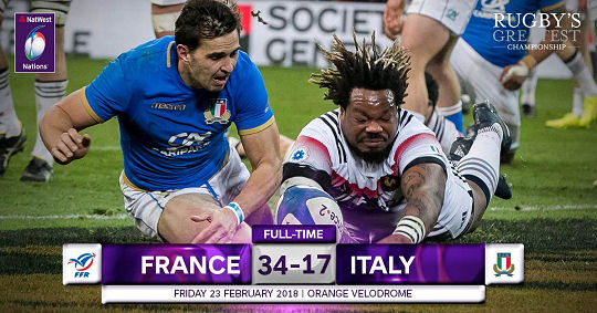 France Italy FT 6 Nations 2018
