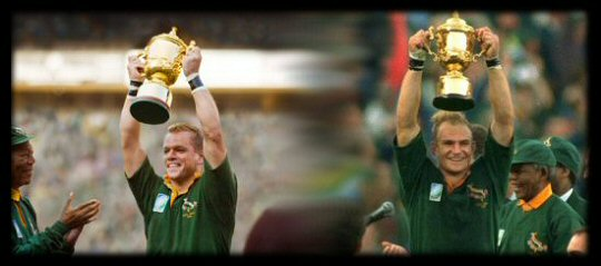 Francois Pienaar (s) Rugby World Cup Final 1995