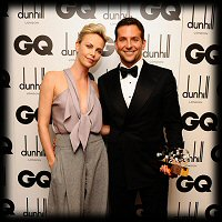 GQ Men of the Year Awards Charlize Theron Bradley Cooper