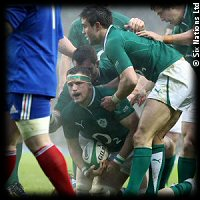 Ireland France Jamie Heaslip try