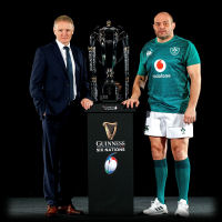 Ireland Rugby Joe Schmidt Rory Best Guinness Six Nations 2019