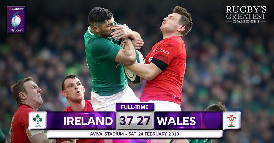 Ireland Wales FT 6 Nations 2018