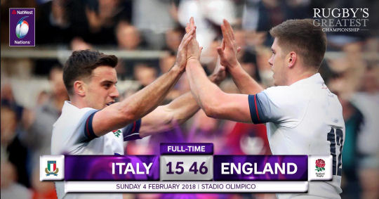 Italy England FT 6 Nations 2018