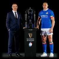 Italy Rugby Conor OShea Sergio Parisse Guinness Six Nations 2019