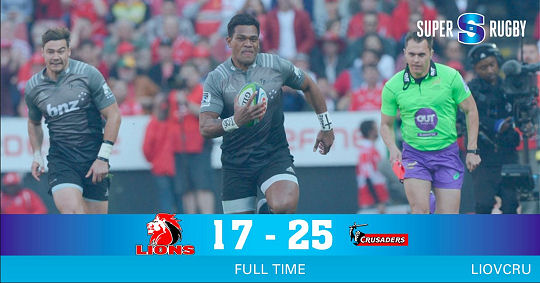 Lions Crusaders FT Super Rugby Final 2017