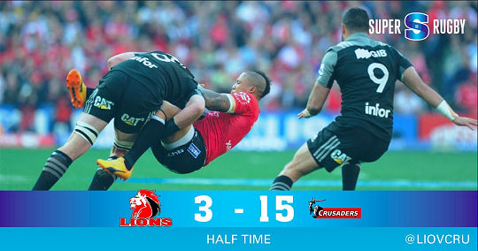 Lions Crusaders HT Super Rugby Final 2017