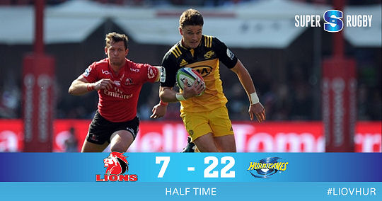 Lions Hurricanes HT Super Rugby SF1 2017