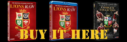 Buy Lions RAW DVDs