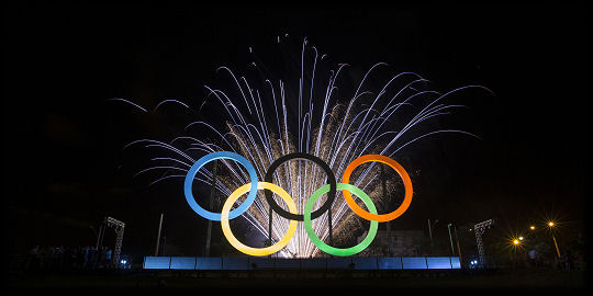 Olympic Rings Rio 2016