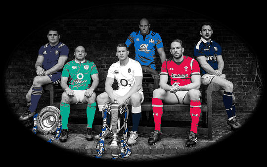 RBS 6 Nations 2017 Captains