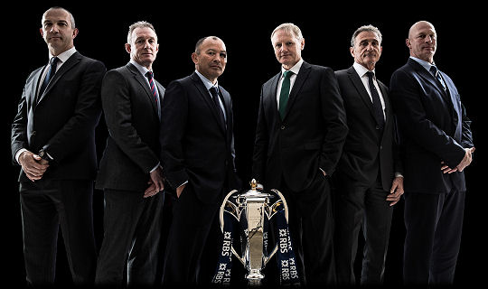 RBS 6 Nations 2017 Coaches