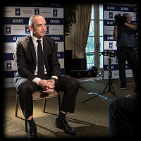 RBS 6 Nations Launch Conor O'Shea
