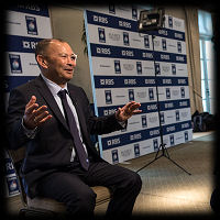 RBS 6 Nations Launch Eddie Jones 2017