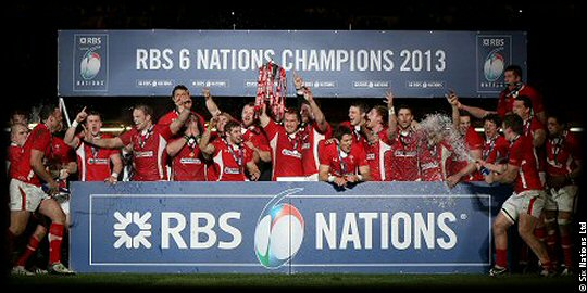 RBS Six Nations Champions Wales 2013