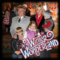 Rod Stewart Penny Lancaster Winter Wonderland