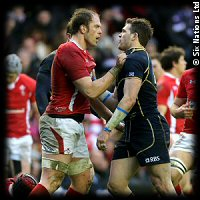 Scotland Wales Alun Wyn Jones Sean Lamont