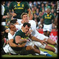 South Africa England 2nd Test Bismarck du Plessis try