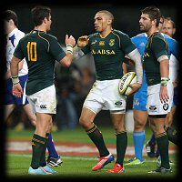 South Africa Italy Morne Steyn Bryan Habana