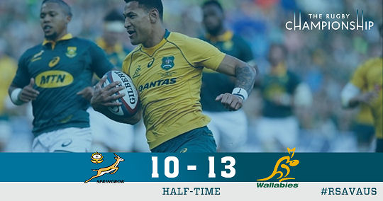 Springboks v Wallabies