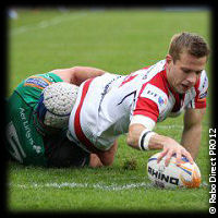 Ulster Connacht Paul Marshall try