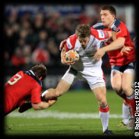 Ulster Munster Andrew Trimble