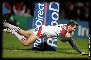 Ulster Zebre Jared Payne try